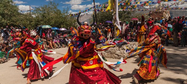 Colourful monastery festivals in Ladakh and Zanskar