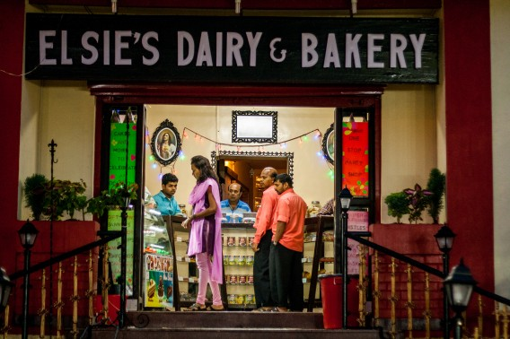Elsie's Dairy, a cute little bakery is the the oldest in Mahabaleshwar, the most famous hill station in Maharashtra, India.